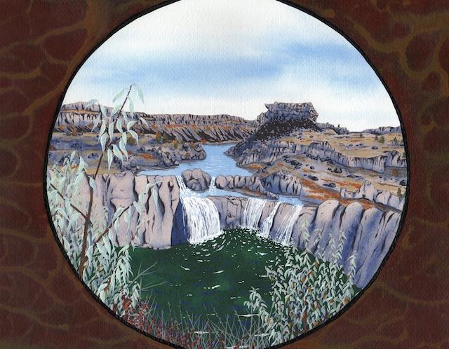 srb-shoshone falls on the snake river crossing
